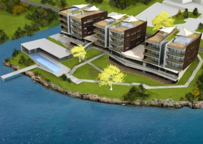 1-3D model Aparthotel Pancharevo