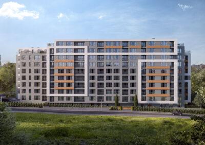 "MONA Building  – residential building and underground garages ""Manastirski livadi – East"" , Sofia city"
