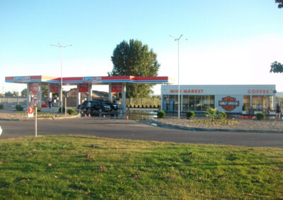 "Petrol and gas station for propane-butane ""Eurooil"""