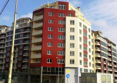 Жилищна сграда с магазини и гаражи – Блок 8, Младост ІV, гр. София
