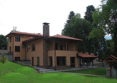 Еднофамилна жилищна сграда с. Панчарево