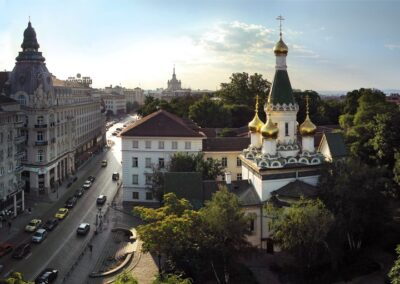 Conservation and Restoration of St. Nicholas the Wonderworker Church. Russian Church in Sofia