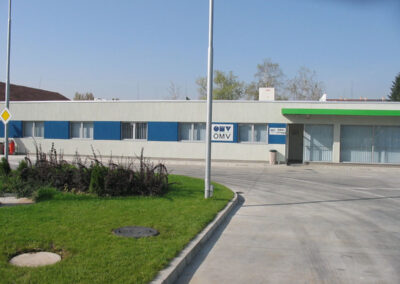 Storage base for petrol products – OMV Ilianci