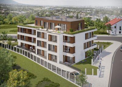 Sunset garden – Жилищна сграда с апартаменти, ателиета и подземен гараж  гр. София